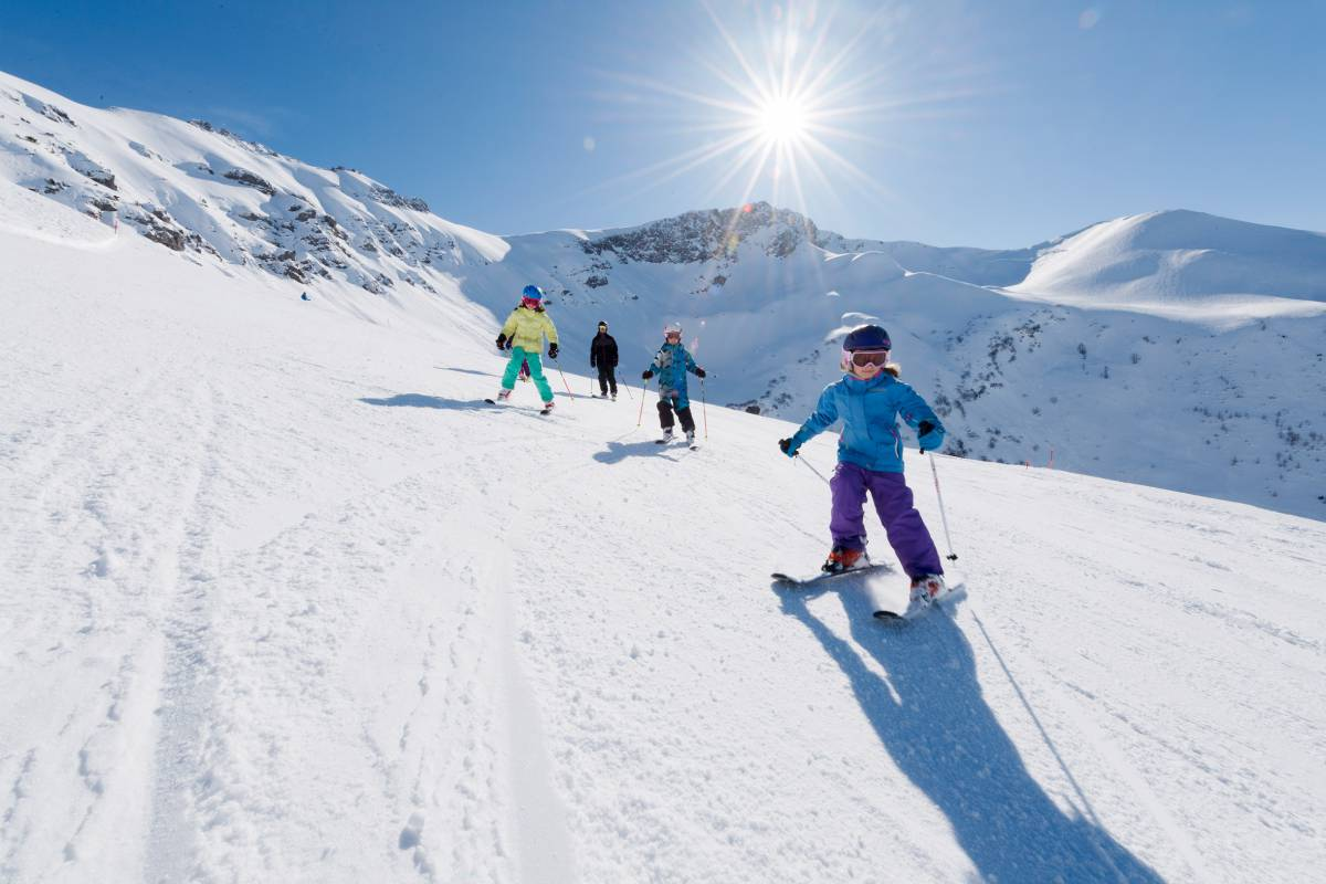 Familienurlaub im Winter in Liechtenstein